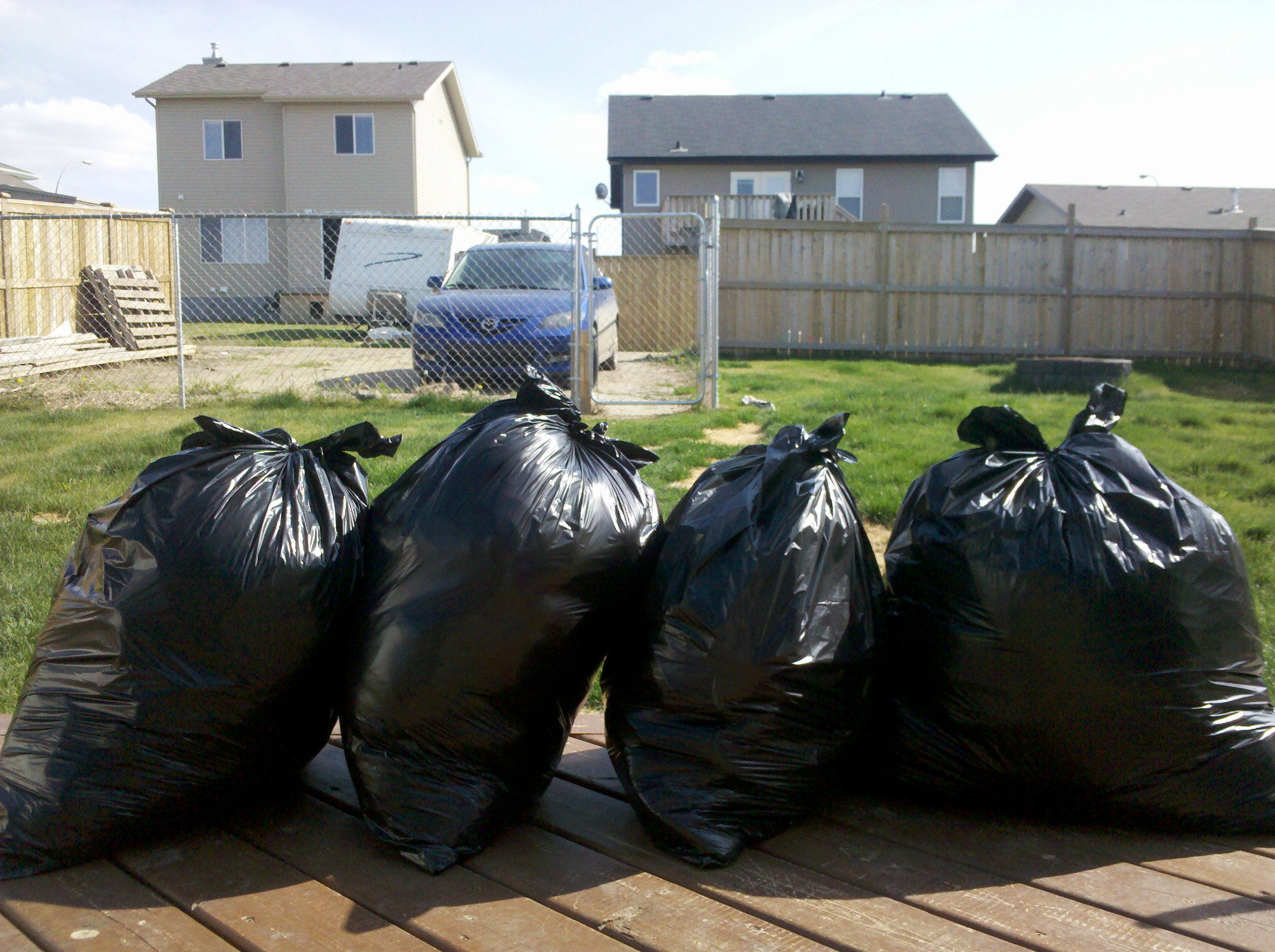 Four bags of crap!